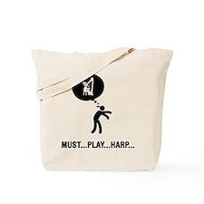 Harp Player Tote Bag