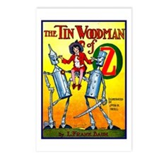 Tin Woodman of Oz Postcards (Package of 8)