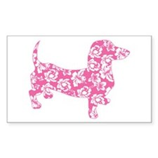 Aloha Pink Doxies Decal