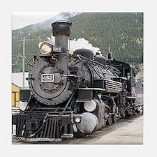 Steam train engine Silverton, Colorado, USA 8 Tile