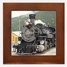 Steam train engine Silverton, Colorado, USA 8 Fram