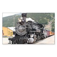 Steam train engine Silverton, Colorado, USA 8 Stic