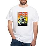 Tik-Tok of Oz White T-Shirt