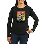 Tik-Tok of Oz Women's Long Sleeve Dark T-Shirt