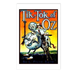 Tik-Tok of Oz Postcards (Package of 8)
