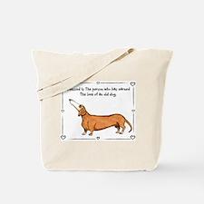 Funny Senior Tote Bag