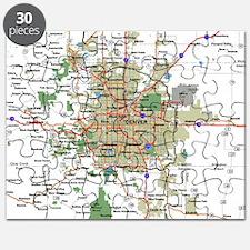 Denver Map Puzzle