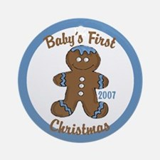 Baby's 1st Christmas (Gingerbread Boy) Ornament