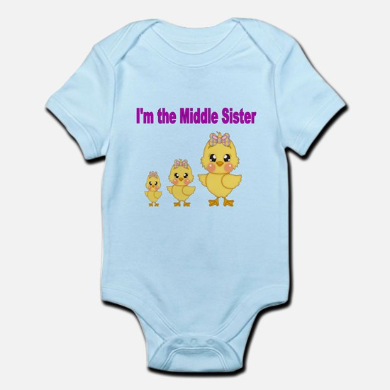 Im the little sister 3 Body Suit