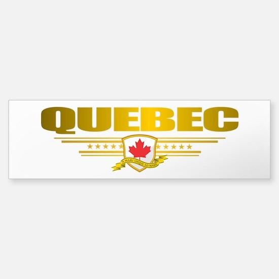 Quebec Pride Bumper Bumper Stickers