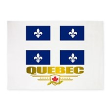 Quebec Pride 5'x7'Area Rug