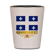 Quebec Pride Shot Glass