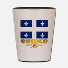 Quebec Pride Shot Glass