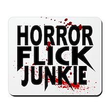 Horror Flick Junkie Mousepad