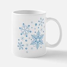 Skull Snowflakes Mug