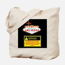 Las Vegas Warning Disclosure Tote Bag