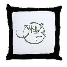 Soul Mate Aatmabandhu (sage) Throw Pillow