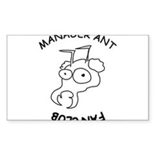 manager ant fanclub Decal