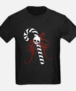 Skull Candy Cane T