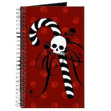 Skull Candy Cane Journal