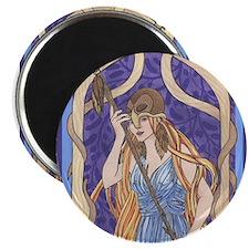 "owl eyed athena 2.25"" Magnet (100 pack)"