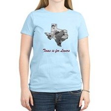 Texas is For Lovers T-Shirt