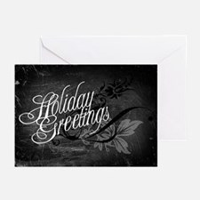Gothic Holiday Greetings Greeting Cards (Pk of 10)