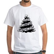 Gothic Tree With Skull Garland Shirt