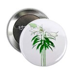 """White Lillies 2.25"""" Button (10 pack)"""