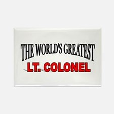 """The World's Greatest Lt. Colonel"" Rectangle Magne"
