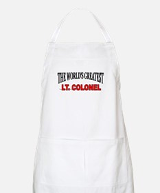 """The World's Greatest Lt. Colonel"" BBQ Apron"