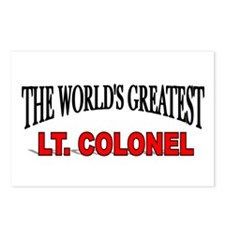 """The World's Greatest Lt. Colonel"" Postcards (Pack"