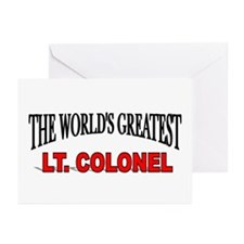 """The World's Greatest Lt. Colonel"" Greeting Cards"