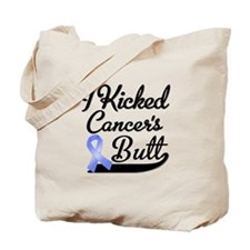 I Kicked Cancers Butt Tote Bag
