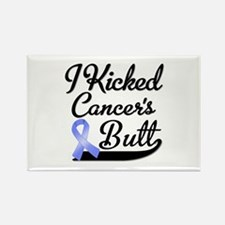I Kicked Cancers Butt Rectangle Magnet