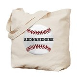 Baseball Canvas Totes