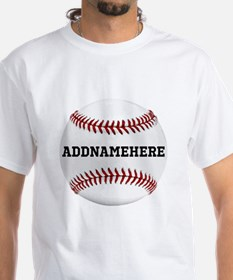 Personalized Baseball Red/Shirt
