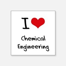 I Love CHEMICAL ENGINEERING Sticker