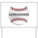 Baseball Yard Signs