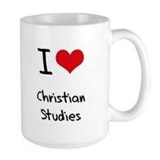 I Love CHRISTIAN STUDIES Mug