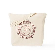 Gayatri Mantra Kiss Soul Tote Bag