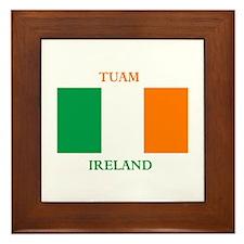 Tuam Ireland Framed Tile
