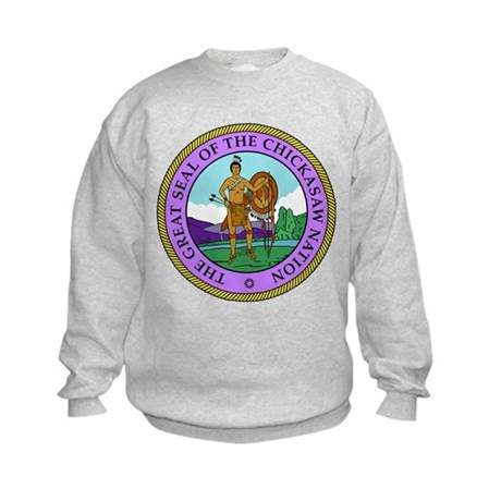 The Great Seal of the Chickasaw Nation Sweatshirt