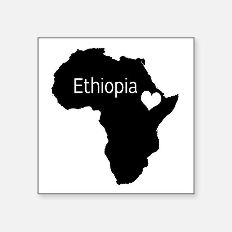 "Ethiopia Decal 3"" x 3"""