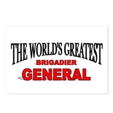 """The World's Greatest Brigadier General"" Postcards"