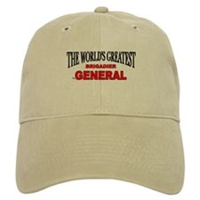 """The World's Greatest Brigadier General"" Baseball Cap"