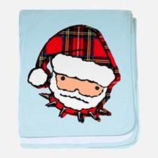 Cute Punk Santa baby blanket