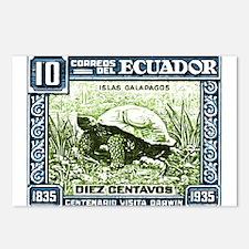 1936 Ecuador Galapagos Tortoise Postage Stamp Post