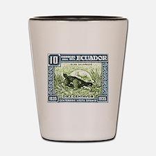 1936 Ecuador Galapagos Tortoise Postage Stamp Shot
