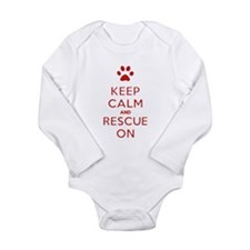 Keep Calm And Rescue On Animal Rescue Body Suit